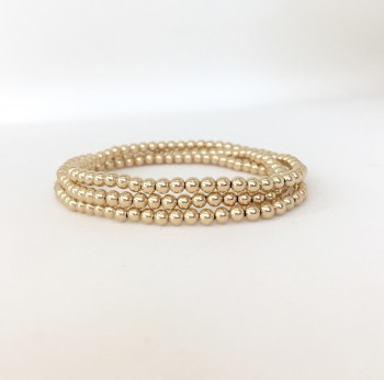 3mm gold filled bracelet