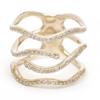 Diamond trunk ring
